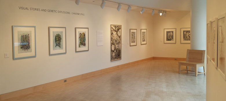 Christine Styles at James Watrous Gallery