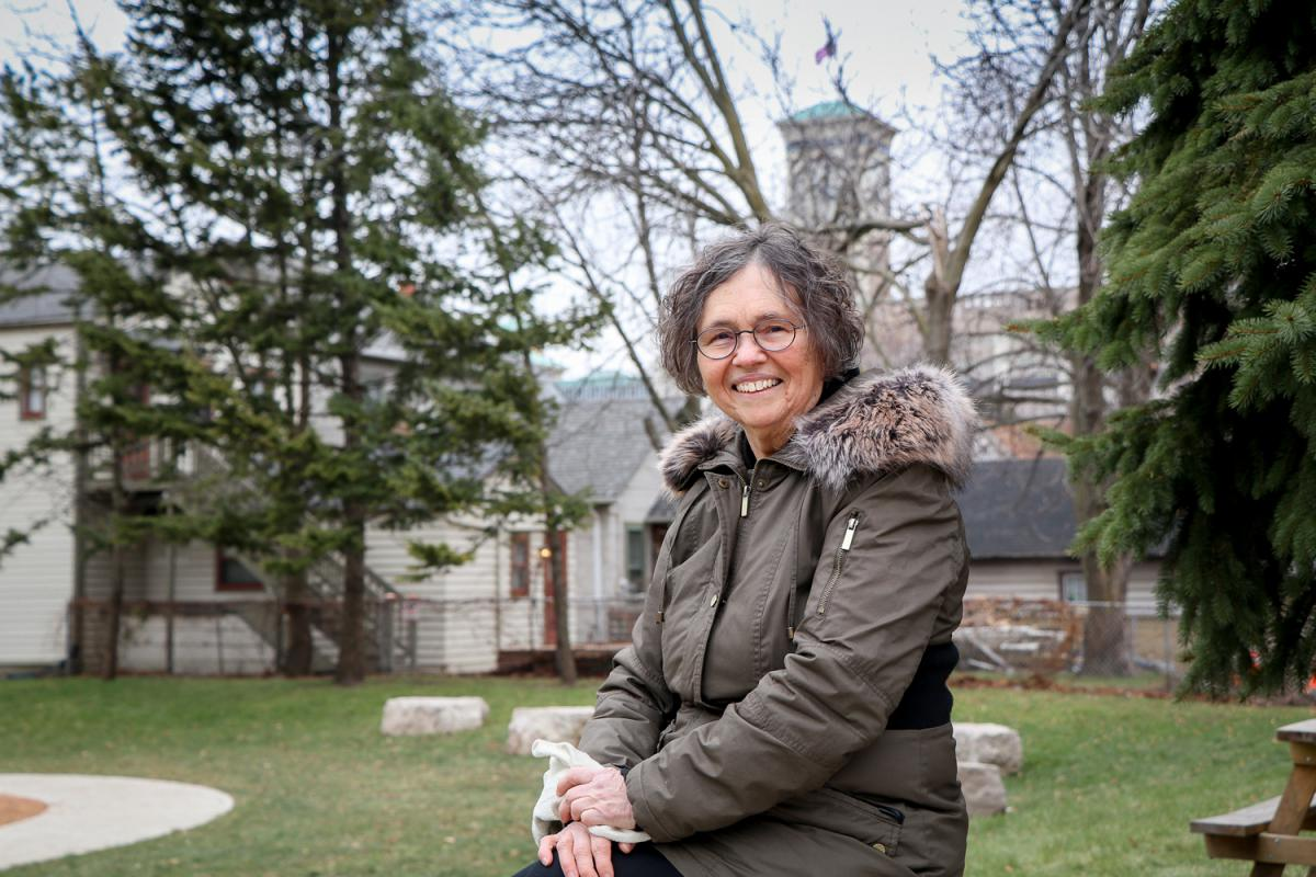 Wisconsin Poet Laureate Peggy Rozga, 2018. Photo by TJ Lambert/Stages Photography.