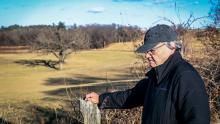 Richard Quinney at his family farm near Elkhorn, 2017. Photo by TJ Lambert/Stages Photography