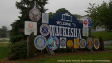 Waukesha is the first community to successfully receive permission to buy water from the Great Lakes (specifically, Lake Michigan) under the 2008 Great Lakes Compact.