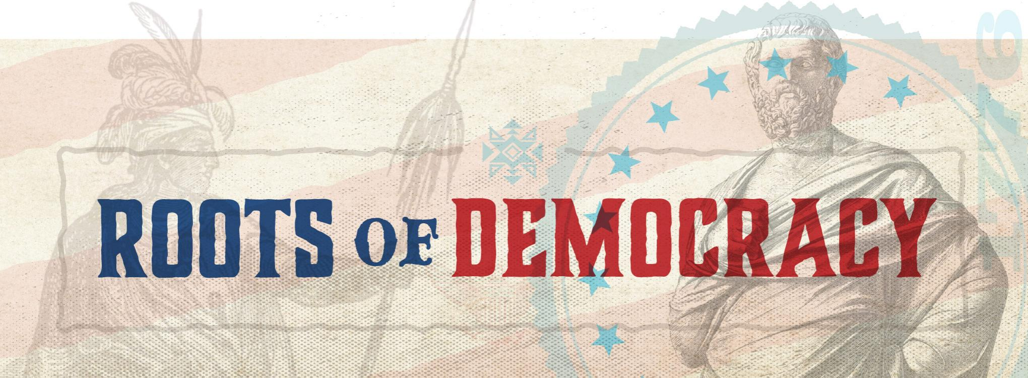 Roots of Democracy series logo