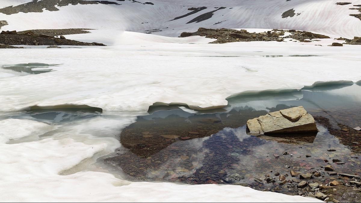Ian van Coller, Chaney Glacier.
