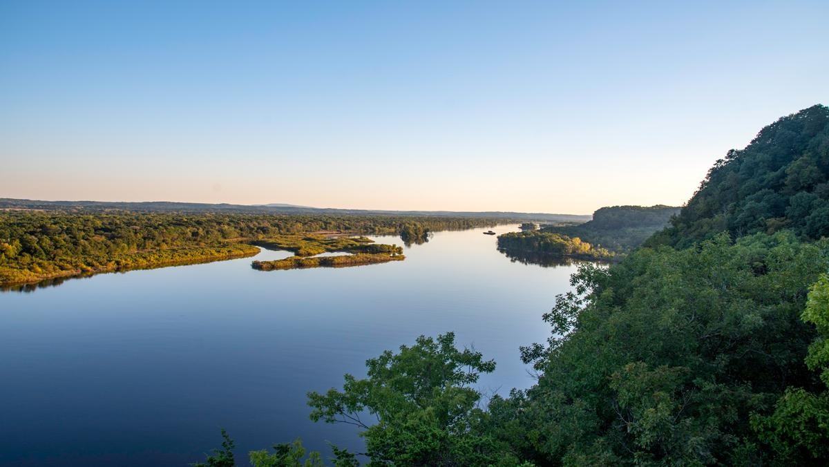 Photograph of the Wisconsin River
