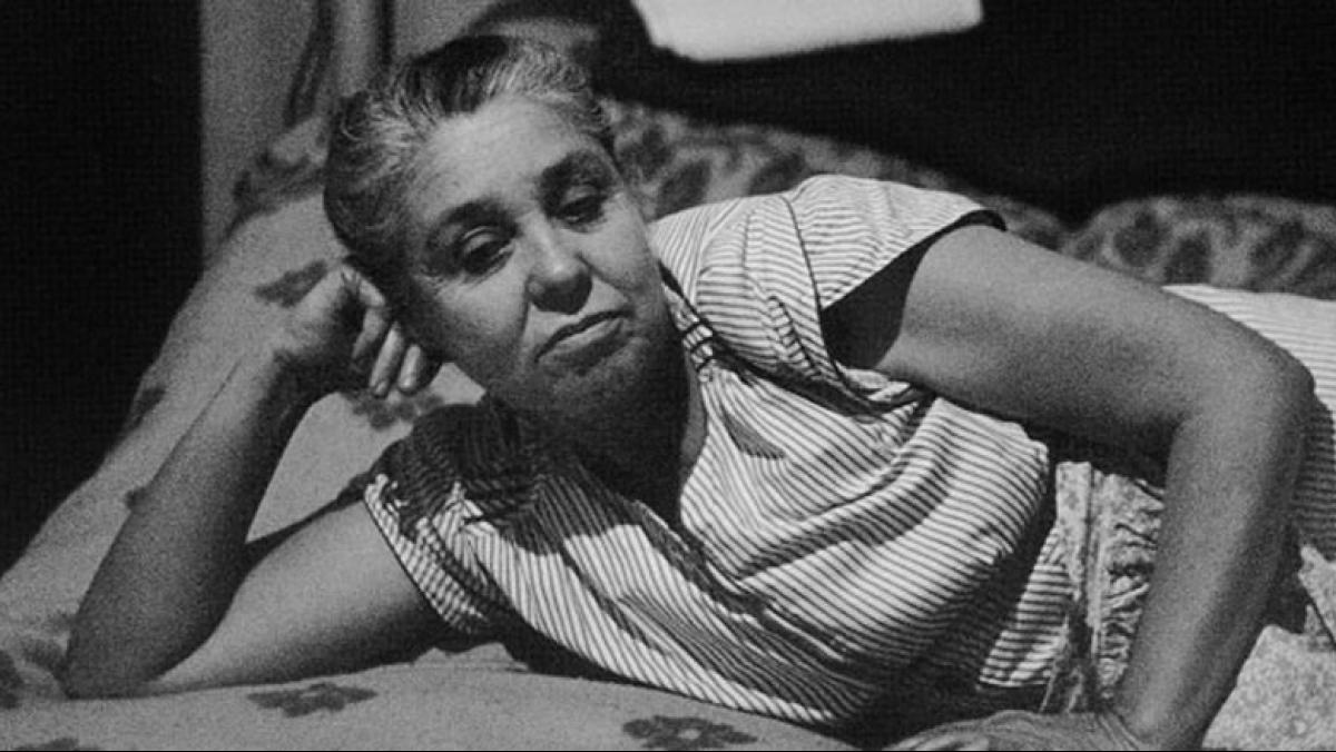Ida Wyman (detail) at James Watrous Gallery