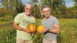 Ken Seguine and Jay Gilbertson of Hay River Farm have been producing artisanal pumpkin seed oil since 2005.