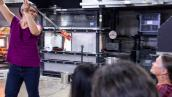 Helen Lee Glassblowing Demo