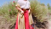 Allison Welch, Meet Allison as Josefina Montoya, 1824, 2013. Kodak Portra, Archival Inkjet Print, h. 36 in. x w. 30 in.