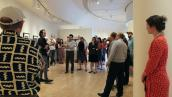 Douglas Bosley Speaking at the James Watrous Gallery
