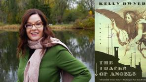 A photo of instructor Kelly Dwyer with her recent book