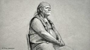 Drawing by artist/instructor Philip Salamone