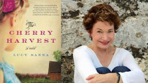 Photo of Lucy Sanna and her most recent book