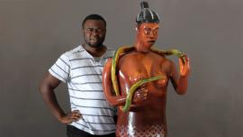 Internationally renowned coffin maker Eric Adjetey Anang is part of a vanguard of immigrant and first-generation American artists who call Wisconsin home. Steven J. Erickson, 2017.