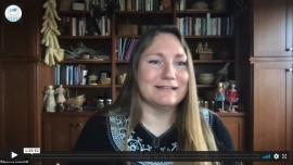 Presenter Rebecca  Webster