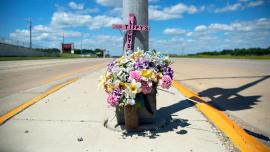 Tiffany M. Dutcher • Highway 51 and Hoepker Road – Dane County. Photo by Thomas Ferrella.