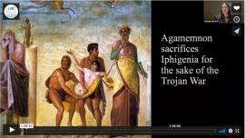 Video still from Founding Narratives: The Evolution of Ancient Athenian and Early American Democracy
